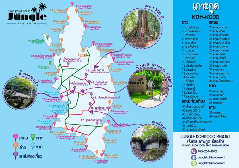 Map Koh Kood